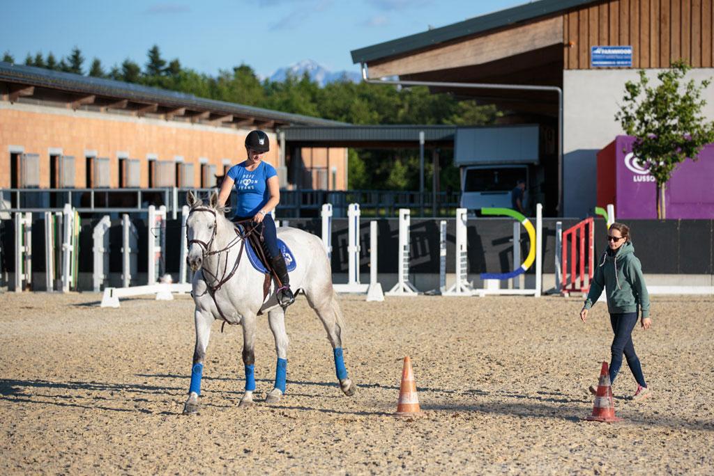 Manège du Chalet-à-Gobet Ecole d'équitation